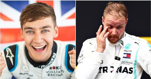 Mercedes have reportedly told George Russell he'll be replacing Valtteri Bottas next season