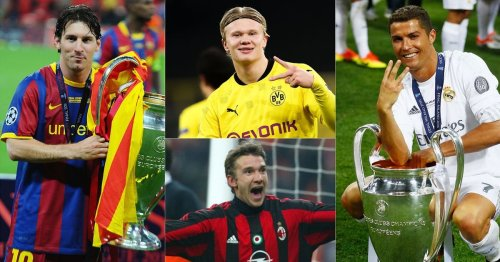The top goalscorer in every single Champions League season since 1992/93