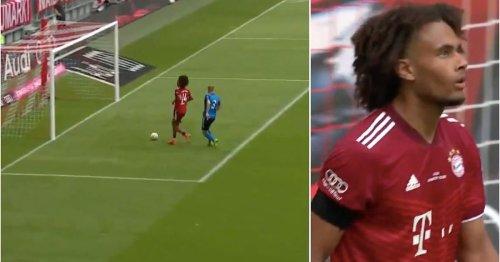 Bayern Munich's Joshua Zirkzee produced the worst miss of 2021 vs Ajax