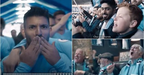 Man City's embarrassing title-winning advert is doing the rounds again and it's pure cringe