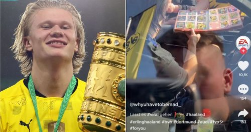 Erling Haaland displays his love for Leeds United again and supporters are loving it