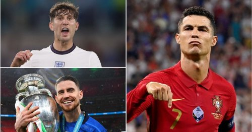 Cristiano Ronaldo and Jorginho shine as Euro 2020's top player in key stats are named