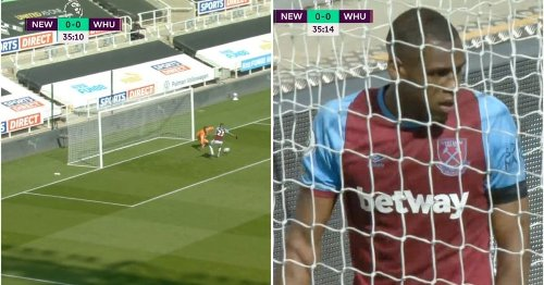 West Ham score comedy own goal and have a man sent off in the space of seconds vs Newcastle