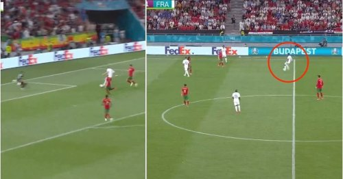 Paul Pogba just unlocked Portugal like it was nothing with stunning assist for Benzema