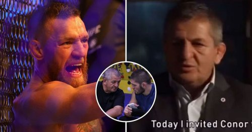 When Khabib's father forgave Conor McGregor for insults and invited him to their family home