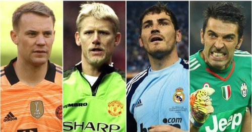 Football fans have ranked the 25 greatest goalkeepers of all time