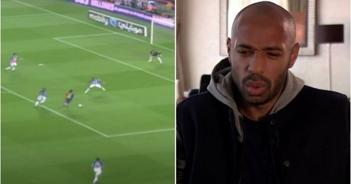 The forgotten Lionel Messi goal that Thierry Henry thinks is 'the best goal he has ever seen'