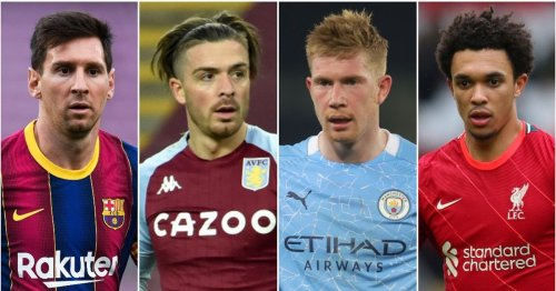 The players with the most chances created since 2019/20 - Jack Grealish 4th