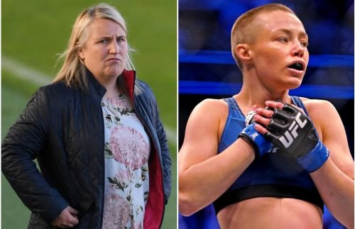 Rose Namajunas: Chelsea's Emma Hayes inspired by UFC star before Champions League semi-final