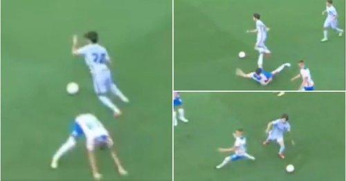 Barcelona's Alex Collado turned into Lionel Messi for 10 secs in moment of magic v Girona