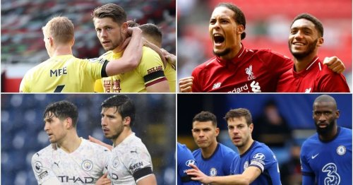 Every Premier League centre-back partnership has been ranked from worst to best