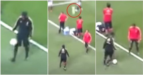 Viral video of Ronaldinho stealing a soul with crazy touch and skill never fails to amaze