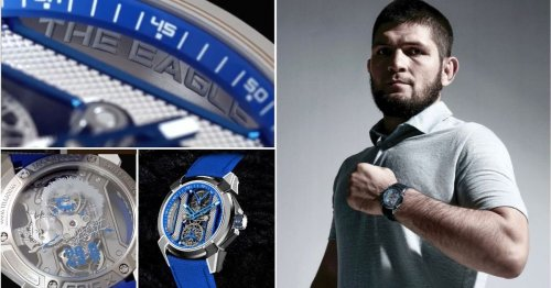 Khabib Nurmagomedov's new watch is dazzling enough to make even Conor McGregor jealous