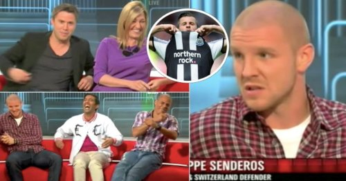 Philippe Senderos's slip of the tongue while discussing Joey Barton will always be iconic