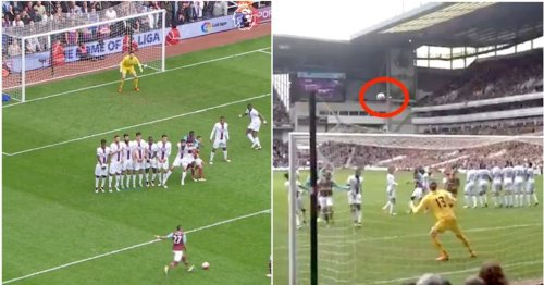 Dimitri Payet is responsible for arguably the most underrated free-kick in Premier League history