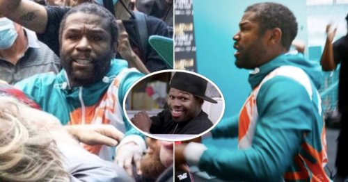 50 Cent is tearing Floyd Mayweather apart after his new haircut gets exposed