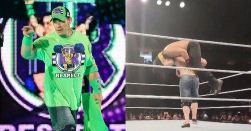 John Cena beats Roman Reigns at untelevised live event