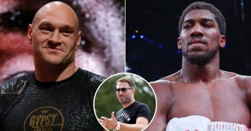 Eddie Hearn rules out Allegiant Stadium as a venue for Anthony Joshua vs Tyson Fury