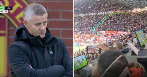Liverpool fans went into savage mode with 'Ole's at the wheel' chant during 5-0 win v Man Utd
