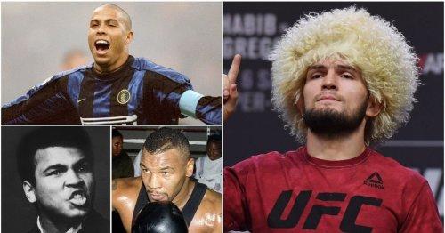 Khabib has revealed the three legendary athletes that helped inspire his UFC career