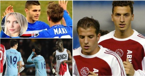 10 sets of football teammates who openly hated each other