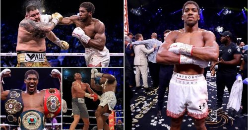 It's official, Anthony Joshua's boxing resume is simply unmatched in the heavyweight division