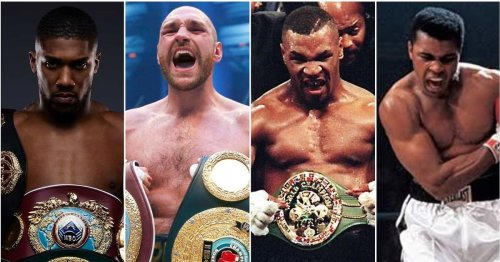 The 50 greatest boxing heavyweights of all time have been ranked