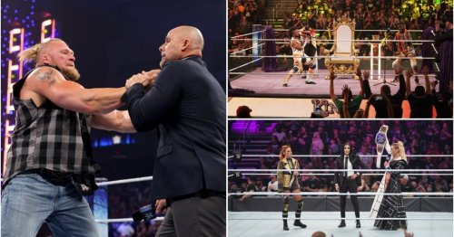 WWE SmackDown results: Brock Lesnar suspended as Becky Lynch & Charlotte Flair swap titles