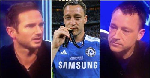 Frank Lampard intervened when John Terry was trolled for wearing full kit in Munich