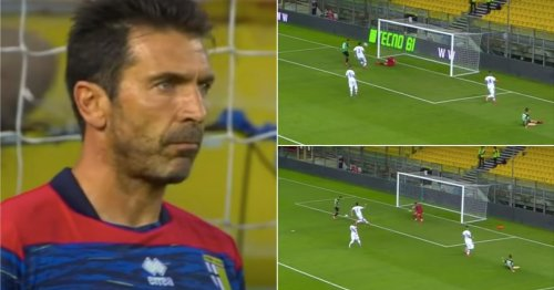 Gianluigi Buffon is still pulling off wonder saves for Parma at the age of 43