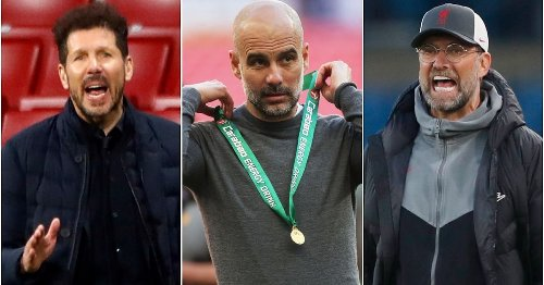 Jurgen Klopp has been named the third best manager in the world right now as top 20 revealed