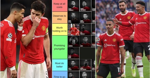 Man Utd's squad ranked from 'Keep at all costs' to 'Time to go' as Solskjaer faces sack