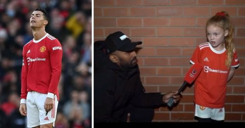 10-year-old girl highlights exactly what's going wrong at Man United