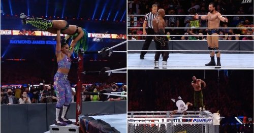 WrestleMania 37 Night One results: Title changes, historic main event & Bad Bunny steals show
