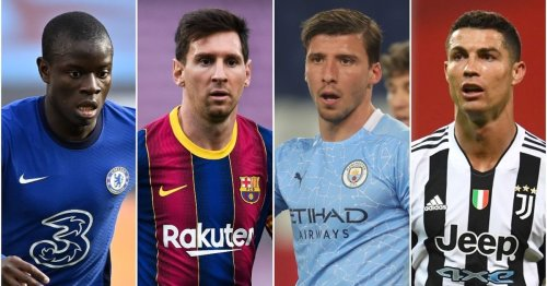 The 50 best footballers in the world right now have been ranked - Messi 2nd