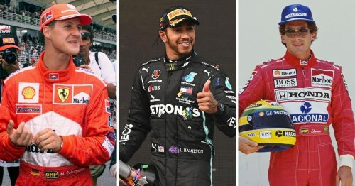 Formula 1's 10 greatest ever drivers have been ranked - Lewis Hamilton top