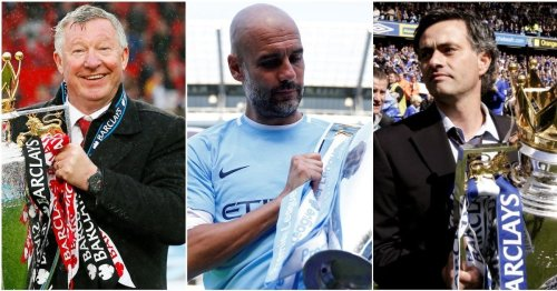 Ranking the 15 greatest managers in Premier League history - Pep Guardiola finishes 3rd
