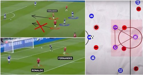 Analysis video of Man Utd's tactical failings vs Leicester reveals Ronaldo-related issue