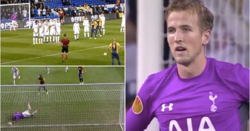 Never forget when Harry Kane went in goal for Tottenham and had an absolute shocker