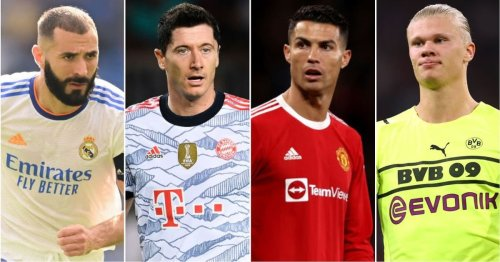 The 10 best strikers in the world have been ranked - Cristiano Ronaldo only 5th