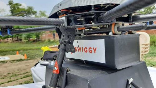 Swiggy starts testing drone delivery for food in India