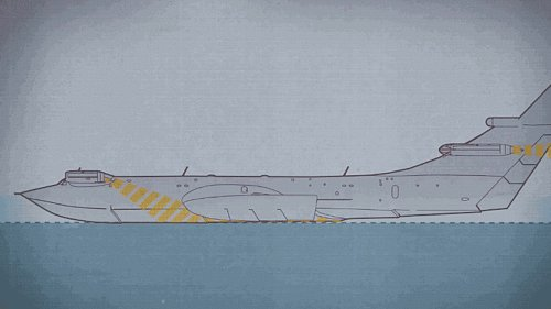 Here's What Happened To The Soviet Ground Effect Sea Monsters