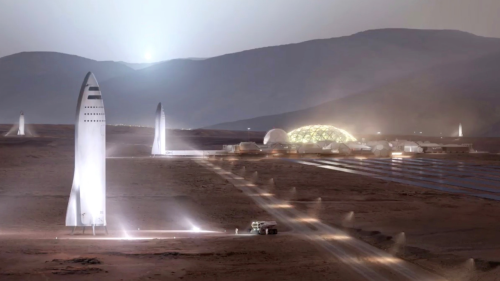 Elon Musk Reckons SpaceX Could Get to Mars by 2024