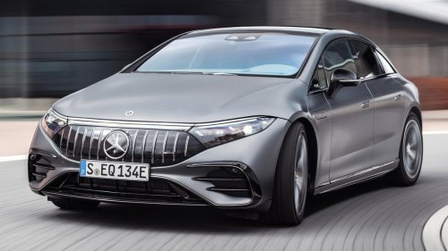 The Mercedes EQS Gets An EPA-Rated 350 Miles Of Range