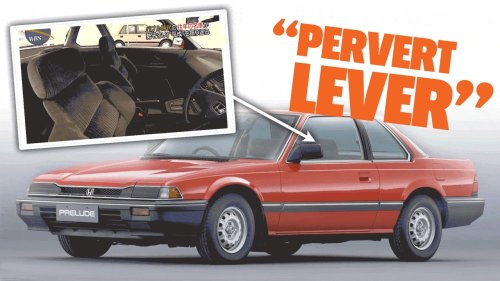 The Honda Prelude Was Controversial In Japan Because Of Something Called The 'Pervert Lever'