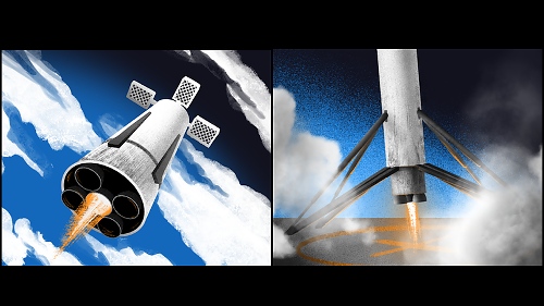 Russian Design for a Reusable Rocket Sure Looks Familiar