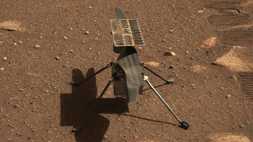 NASA is Having Technical Difficulties With the Ingenuity Helicopter on Mars