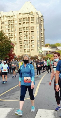 Security fears follow Dr. Bonnie Henry, even during Royal Victoria race