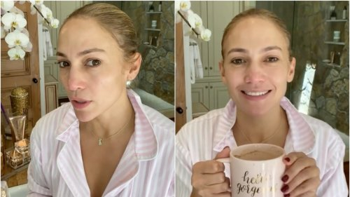 Jennifer Lopez's Morning Skin-Care Routine Is Just 4 Steps Long