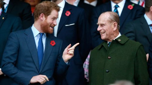 Prince Philip at 36 Years Old Looked Exactly Like Prince Harry